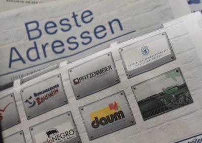 Werbung Fa. Daum Heizung- und Sanitär GmbH Bensheim
