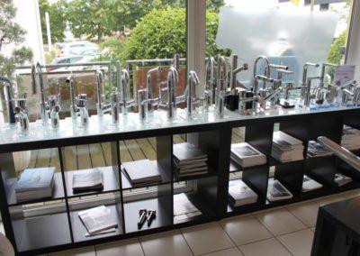 Wasserarmaturen WaschtAusstellung Firma Daum Heizung- und Sanitär GmbH Bensheim